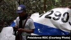 Eteni ya mpepo ezali kolakisa numero ya Antonvo 72 eye emoni nsima na likama na zamba ya Kole, na Sankuru, 15 octobre 2019. (Présidence RDC)