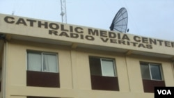The Catholic Media Center in Monrovia, Liberia