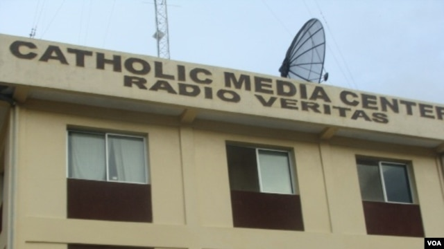 The Catholic Media Center in Monrovia, Liberia