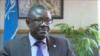 លោក Patrick Kormawa អ្នកសម្របសម្រួលប្រចាំអនុតំបន់អាហ្វ្រិកខាងត្បូងរបស់អង្គការម្ហូបអារហារនិងកសិកម្ម (FAO) ស្ថិតក្នុងក្រុងហារ៉ារ៉េ ប្រទេសស៊ីមបាវ៉េ កាលពីថ្ងៃទី១២ ខែវិច្ឆិកា ឆ្នាំ២០១៨។