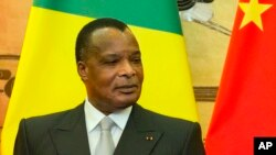 Denis Sassou Nguesso, président du Congo, 5 juillet 2016