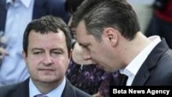 Lideri SPS-a i SNS-a, Ivica Dačić i Aleksandar Vučić