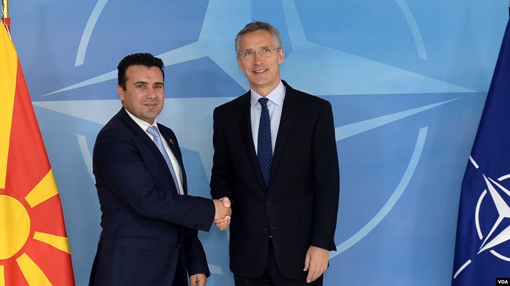 Maqedonia nënshkruan më 6 shkurt Protokollin për anëtarësim në NATO