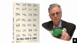 """Capa livro """"São Paulo, Prisão de Luanda"""" de Carlos Taveira (Piri)"""