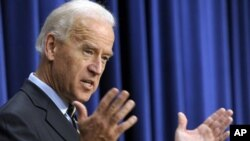 US Vice President Joseph Biden (file photo)