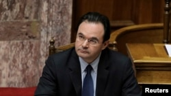 Mantan Menteri Keuangan Yunani, George Papaconstantinou (Foto: dok).