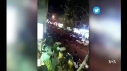 Mas protestas en Irán: turbas atacan comisaría