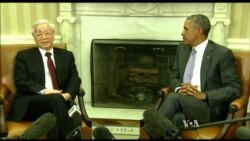 Obama, Vietnam's Communist Leader Discuss Rights, Trade