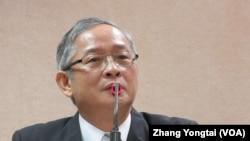 台湾执政党国民党立委 林郁方(美国之音张永泰拍摄)