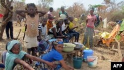 Central Africa refugees struggle in the Gado Badzere, Cameroon, not far from the border with Central Africa.