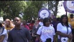 2013-08-25 美國之音視頻新聞: 美國紀念歷史性的民權大遊行50週年