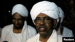 Sudan's President Omar al-Bashir, shown here at a news conference in August, is due to pay his second visit to South Sudan next week, for talks that are expected to focus on Abyei.