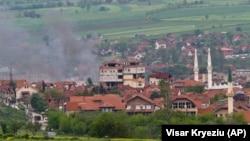 Kumanovo'dan yükselen dumanlar