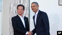 El presidente Obama visitar al primer ministro vietnamita, Nguyen Tan Dung, con quien ya se reunió en California en febrero de este año.