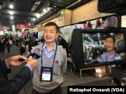 Deputy Director of Innovation for Education and Research,Chulalongkorn University, Prof. David Banjerdpongchai ,Ph.D. talks with VOA Thai during the NAFSA 2018 Annual Conference in Philadelphia, PA.