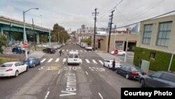 旧金山UPS枪击案 案发地点街头