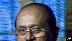 정치범 사면을 단행한 테인 세인 대통령 (자료사진)