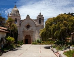 Mission San Carlos Borromeo de Carmelo where Junipero Serra was buried
