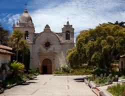 Mission San Carlos Borromeo de Carmelo where Junipero Serra was buried