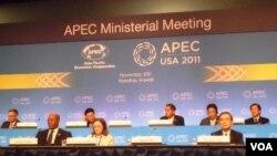 Pertemuan Menteri Perdagangan negara-negara anggota APEC di Honolulu, Hawaii (11/11).