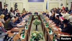 Ukraine Holds National Unity Talks