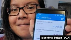 Mashima Button, a 29-year-old Thai student and part-time programmer in Melbourne, Florida