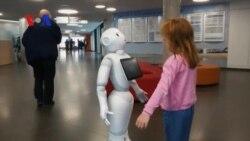 Meet Pepper the Health Robot
