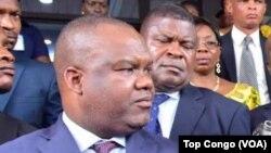 Le président de la Ceni, Corneille Nangaa, RDC, le 27 octobre 2017