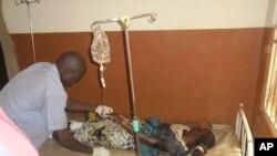 Wata mace kwance a asibiti a sakamakon harin yan Boko Haram