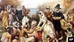 Thanksgiving a été l'occasion de fêter la toute première récolte