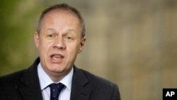 Заместитель главы МВД Великобритании по делам иммиграции Дэмиан Грин (архивное фото)