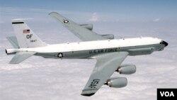 美國空軍RC-135U電子偵察機。