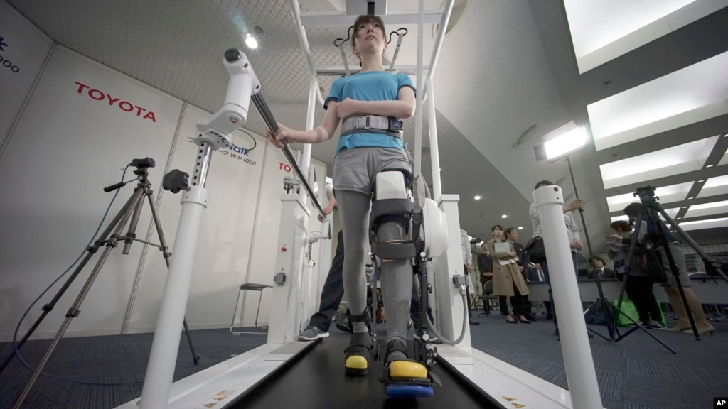 Toyota Plans to Offer a Robotic Leg to Help the Disabled