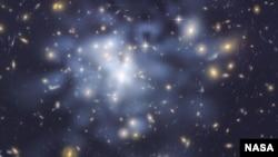 우주 암흑물질 단서 발견