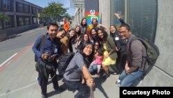 Para peserta Program Katalis Kewirausahaan Sosial mengunjungi perusahaan Google di kota Seattle, Washington (foto: courtesy).