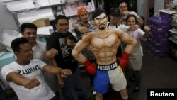 BOXING-WORLD/PACQUIAO-PHILIPPINES