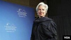 Minis finan fransè a Christine Lagarde,