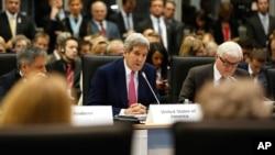 Američki državni sekretar Džon Keri govori na ministarskom sastanku OEBS-a u Beogradu