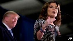 La exgobernadora de Alaska, Sarah Palin, asegura que Ryan irresuelta la voluntad de la gente.