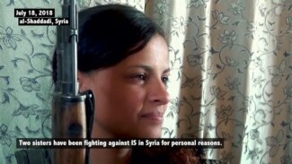 Former Islamic State Wives Join Fight Against IS in Syria