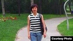 北京高校女教师王铮(王铮提供)