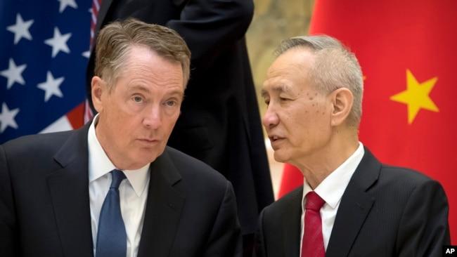 Hai nhà đàm phán thương mại hàng đầu của Mỹ và Trung Quốc