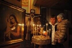Amerika rus pravoslav cherkovi a'zolari Moskvada - Navbahor Imamova