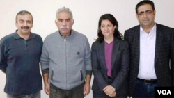 Kurdish Delegation to Ocalan