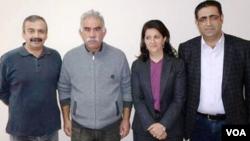 Kurdish Delegation to Ocalan