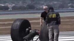 Investigan restos de avión siniestrado