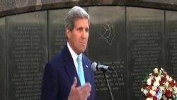 克里訪問肯尼亞向恐怖襲擊受害者致敬