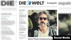 Deniz Yucel, a correspondent for the Die Welt newspaper, was arrested by Turkish authorities Feb. 27, 2017.