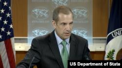 美国国务院副发言人托纳(图片来源:美国国务院)