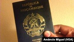 Mozambican passport
